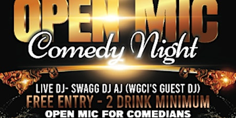 Free Open Mic Comedy Show tickets