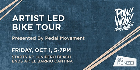 Artist Led Bike Tour Presented by HEX in collaboration with Pedal Movement tickets