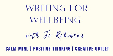 Writing For Wellbeing tickets