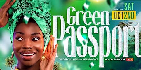 GREEN PASSPORT tickets