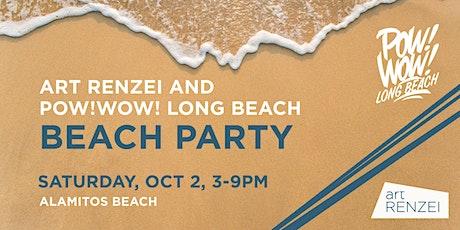 POW! WOW! Long Beach x Art Renzei Beach Party + Movie Viewing tickets