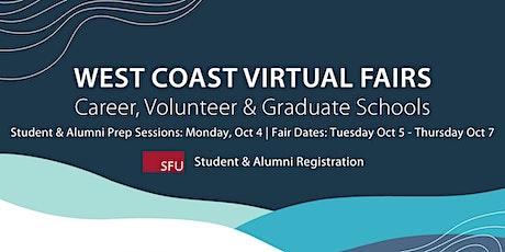 West Coast Virtual Fairs (Fall 2021) - Student & Alumni Registration tickets