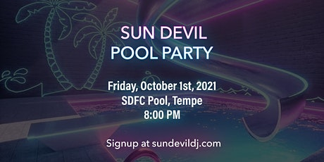 Sun Devil Pool Party tickets