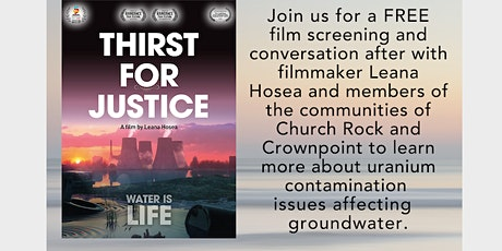 Thirst for Justice Film Screening for Indigenous Peoples Day tickets