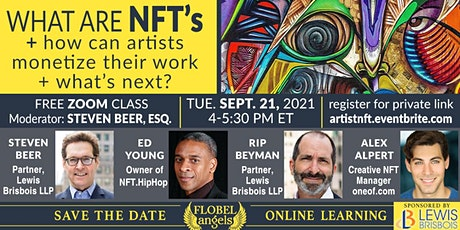 What are NFT's: How Can Artists Monetize Their Work and What's Next? tickets