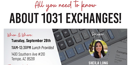 1031 Exchange Lunch & Learn with Sheila Long tickets