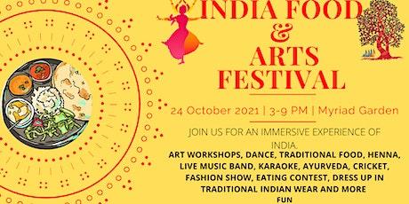 India Food & Arts Festival tickets