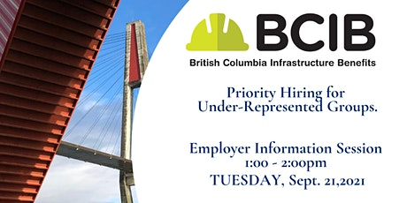 BC Infrastructure Benefits tickets