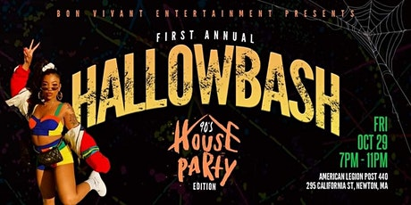 HALLOWBASH: 90'S HOUSE PARTY EDITION tickets