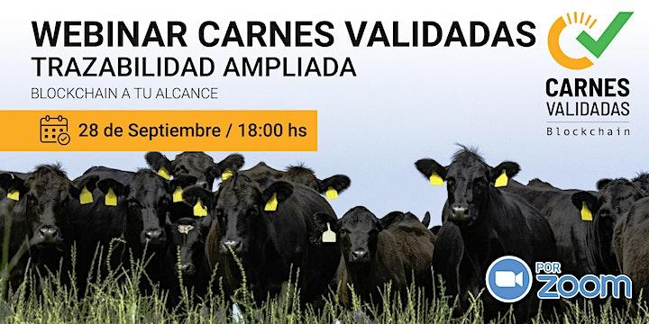 Imagen de Webinar Plataforma Carnes Validadas Septiembre 2021