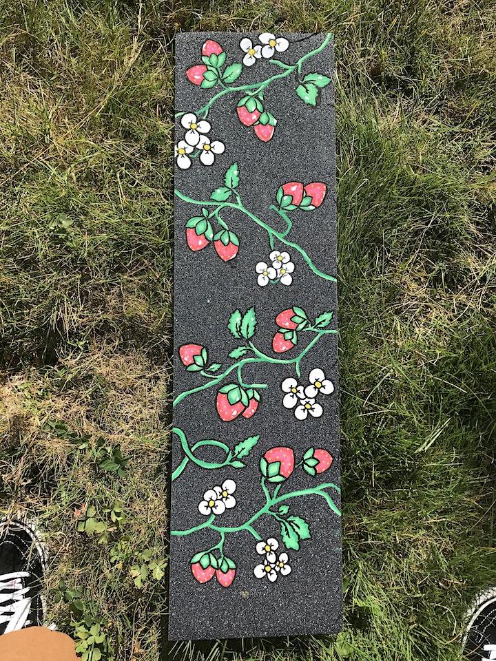 BIPOC Art Ecosystem Workshop 3: Skateboard Decoration with Ryme and Taylor image