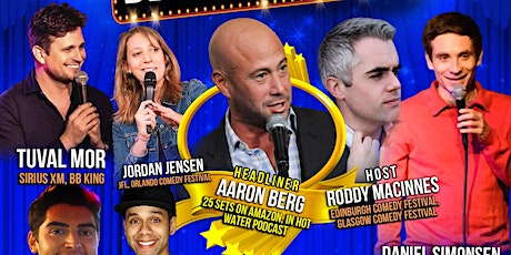 """Stand Up Comedy Show- """"Best Of Comedy"""" at Broadway Comedy Club  - October 1 tickets"""