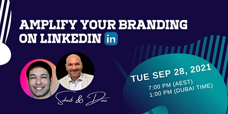 Amplify Your Branding on LinkedIn tickets