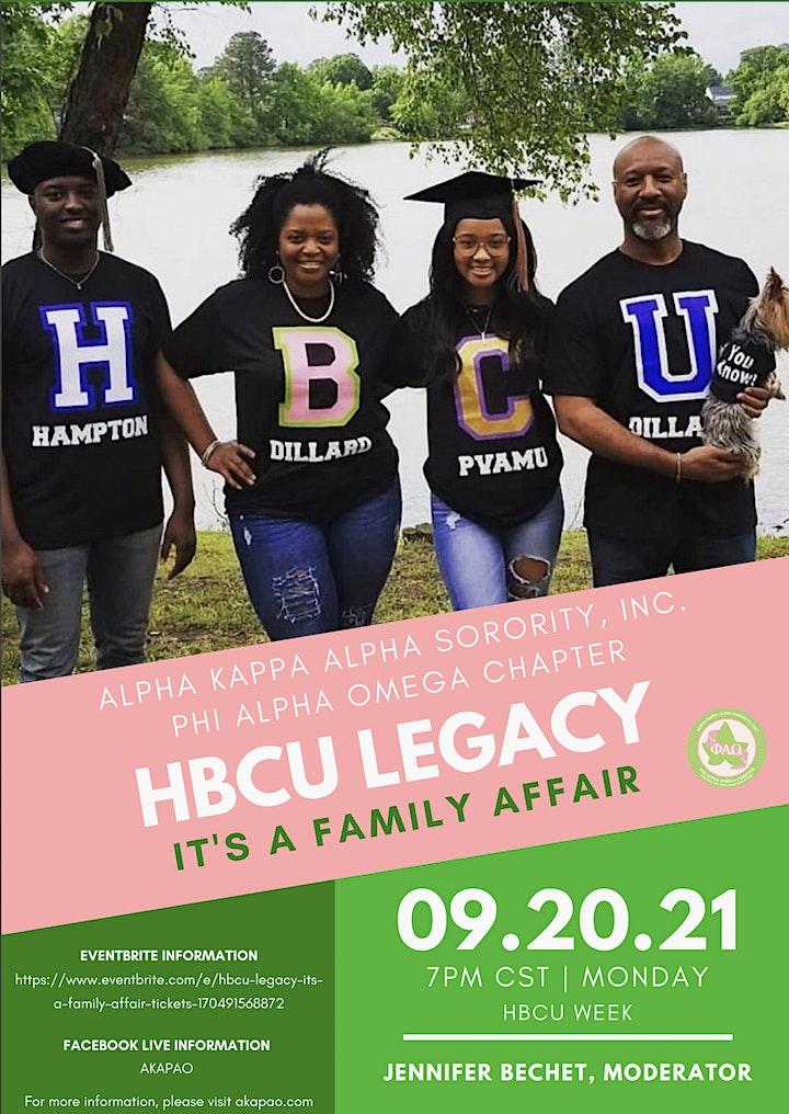 HBCU Legacy It's A Family Affair image