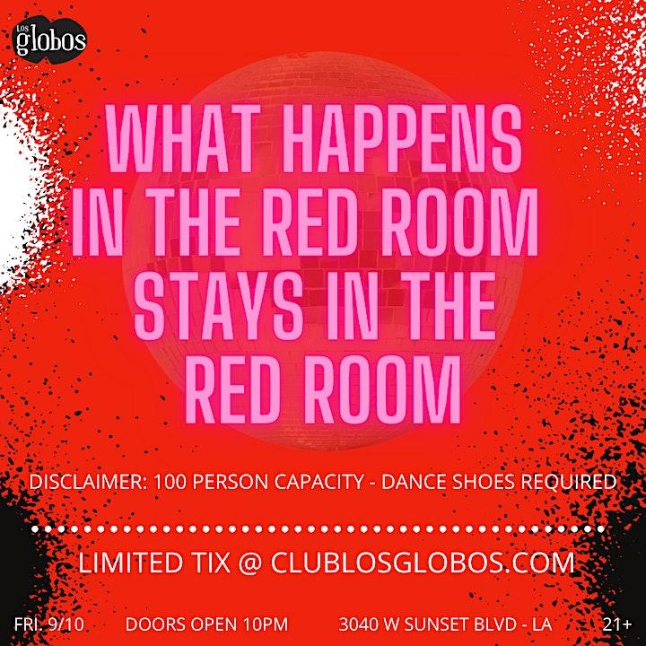 RED ROOM FRIDAYS image