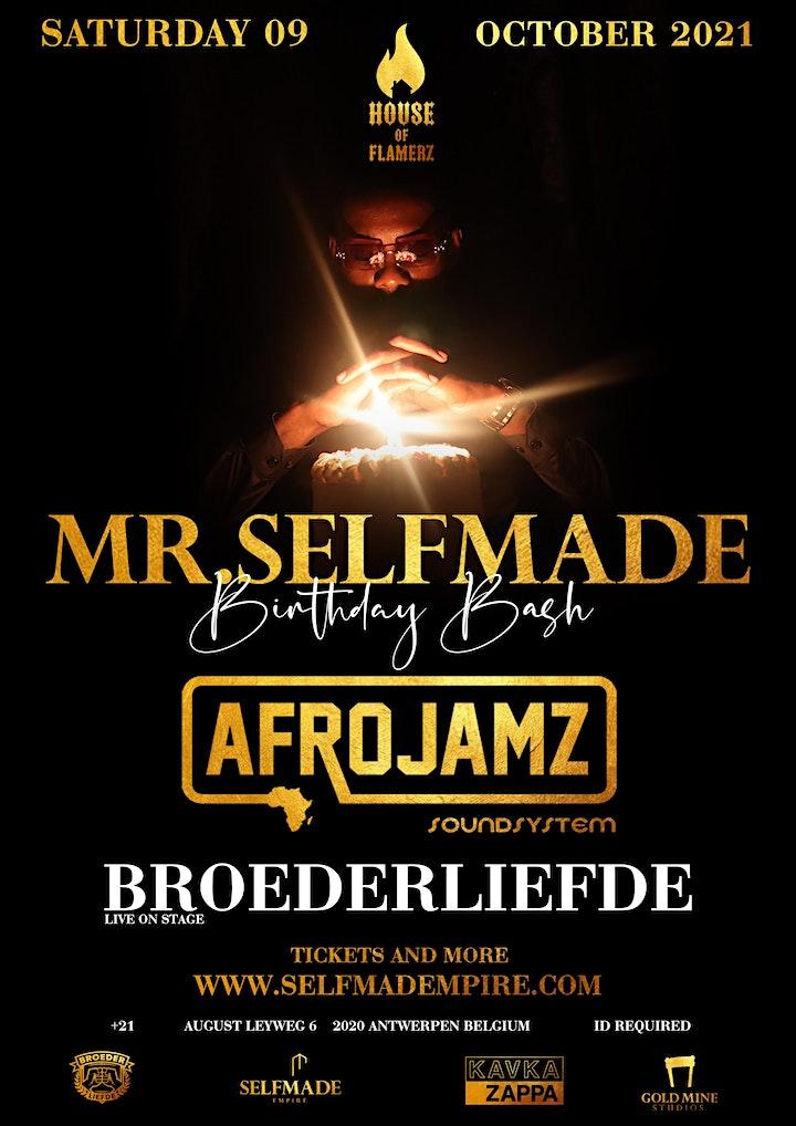 Afbeelding van AFROJAMZ w/h BROEDERLIEFDE live on stage