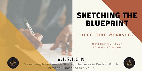 Sketching the Blueprint - Budgeting Workshop tickets