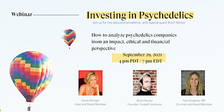 Investments in the Psychedelic Industry tickets