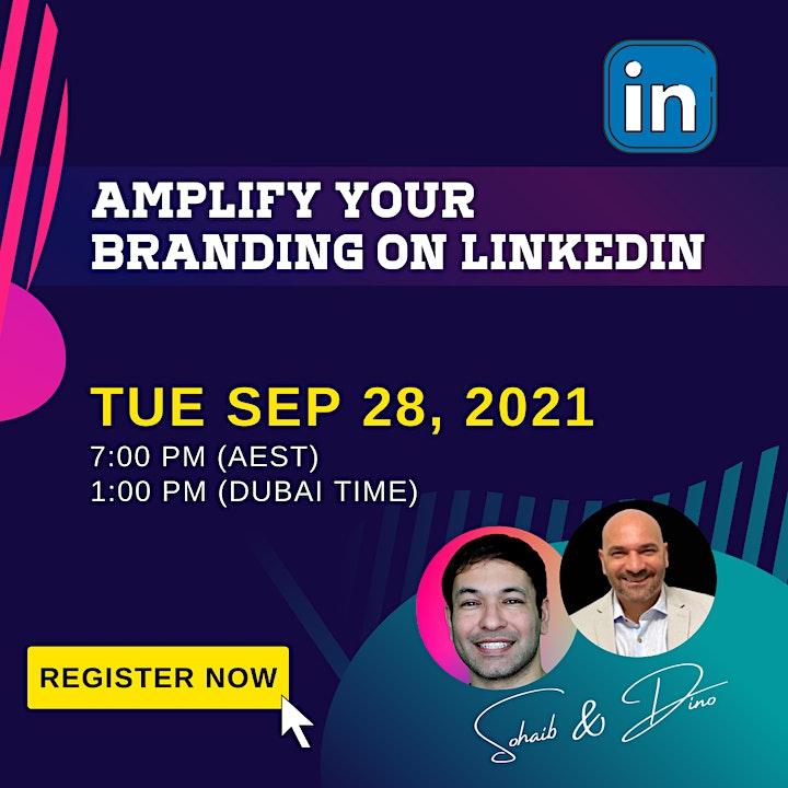 Amplify Your Branding on LinkedIn image