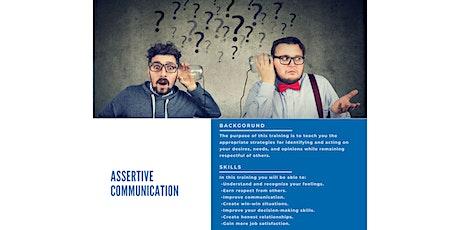 Assertive Communication tickets