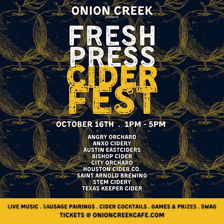 Fress Press Ciderfest image