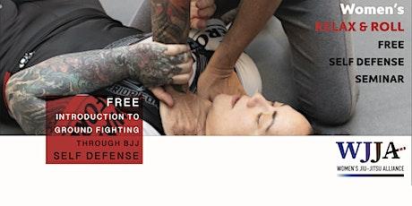Self Defense - Brazilian Jiu Jitsu Relax & Roll tickets
