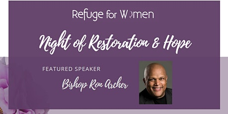 Night of Restoration and Hope tickets