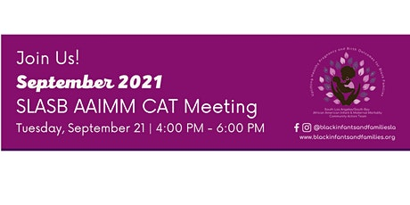South Los Angeles/South Bay AAIMM CAT Bi-Monthly Hybrid Meeting (In-Person) tickets