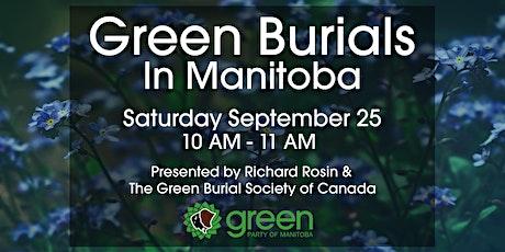 Green Burials in Manitoba tickets