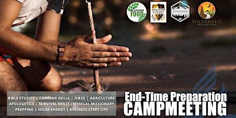 End-Time Preparation Campmeeting tickets