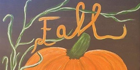 """Paint & Sip """"Fall Pumpkin"""" at Bacchus House in Folsom! tickets"""