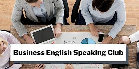 Business English Speaking Club biglietti