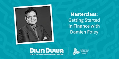 Dilin Duwa Online Masterclass : Getting Started with Finance tickets