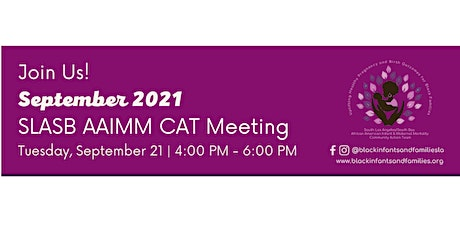 South Los Angeles / South Bay AAIMM CAT Bi-Monthly Hybrid Meeting (Virtual) tickets