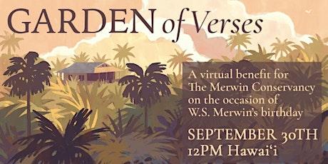 The Merwin Conservancy presents Garden of Verses tickets