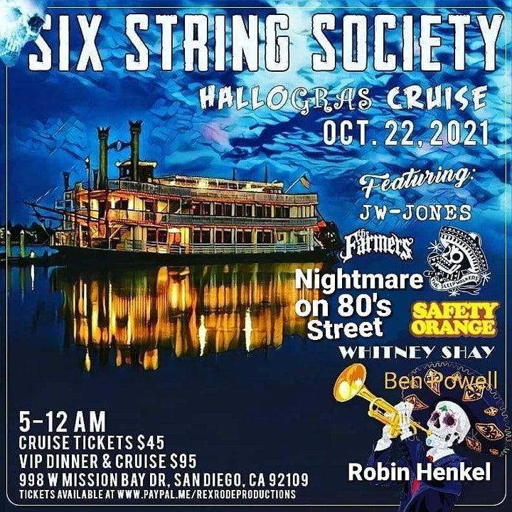 The Hallo-Gras cruise - Six String Society image