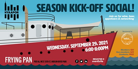NYAAPOR Season Kick-Off Social tickets