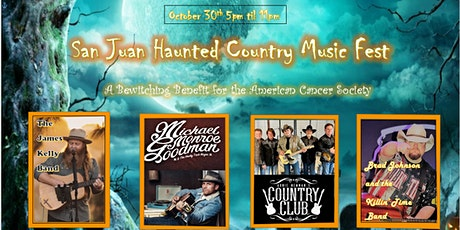 San Juan Haunted Country Music Fest tickets