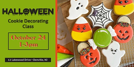 Halloween Cookie Decorating Class for Beginners tickets
