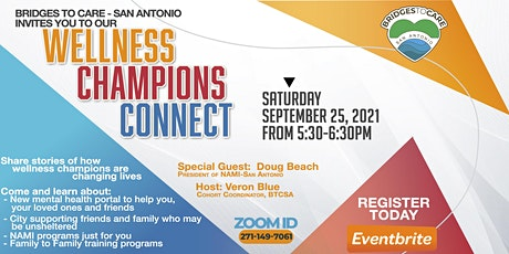 WELLNESS CHAMPIONS CONNECT tickets