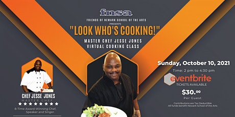 """Friends of NSA """"Look Who's Cooking!"""" with Chef Jesse Jones tickets"""