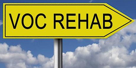 Learn About Vocational Rehabilitation/Aprende sobre los servicios de rehab tickets