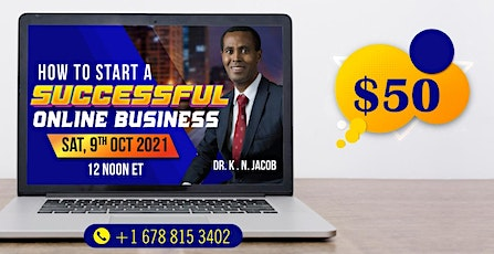 How to Start a Successful Online Business tickets