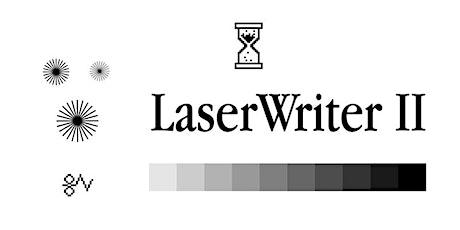 LaserWriter II Book Launch tickets
