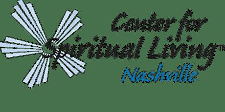 Center for Spiritual Living Nashville Sunday Service tickets