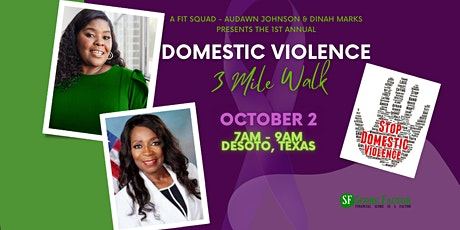 A FIT SQUAD - DOMESTIC VIOLENCE 3 MILE WALK tickets