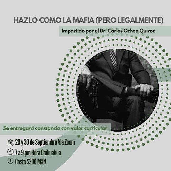 Imagen de HAZLO COMO LA MAFIA (LEGALMENTE)