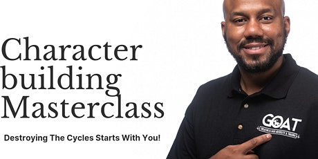 Character Building Masterclass tickets