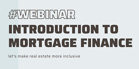 Introduction to Mortgage Finance tickets