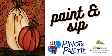 Paint & Sip with Pinot's Palette tickets